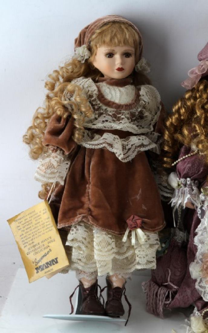 ASSORTED PORCELAIN DOLL LOT MANN CATHAY CHANTELL - 2
