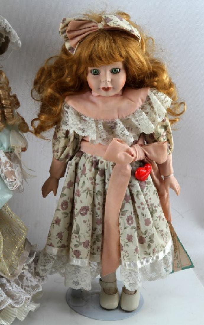 ASSORTED PORCELAIN DOLL LOT MANN CATHAY CHANTELL - 5
