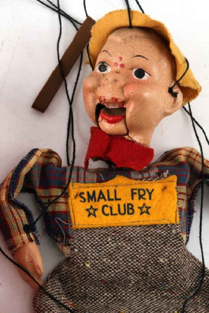 VINTAGE SMALL FRY CLUB BOXED BOY MARIONETTE - 2