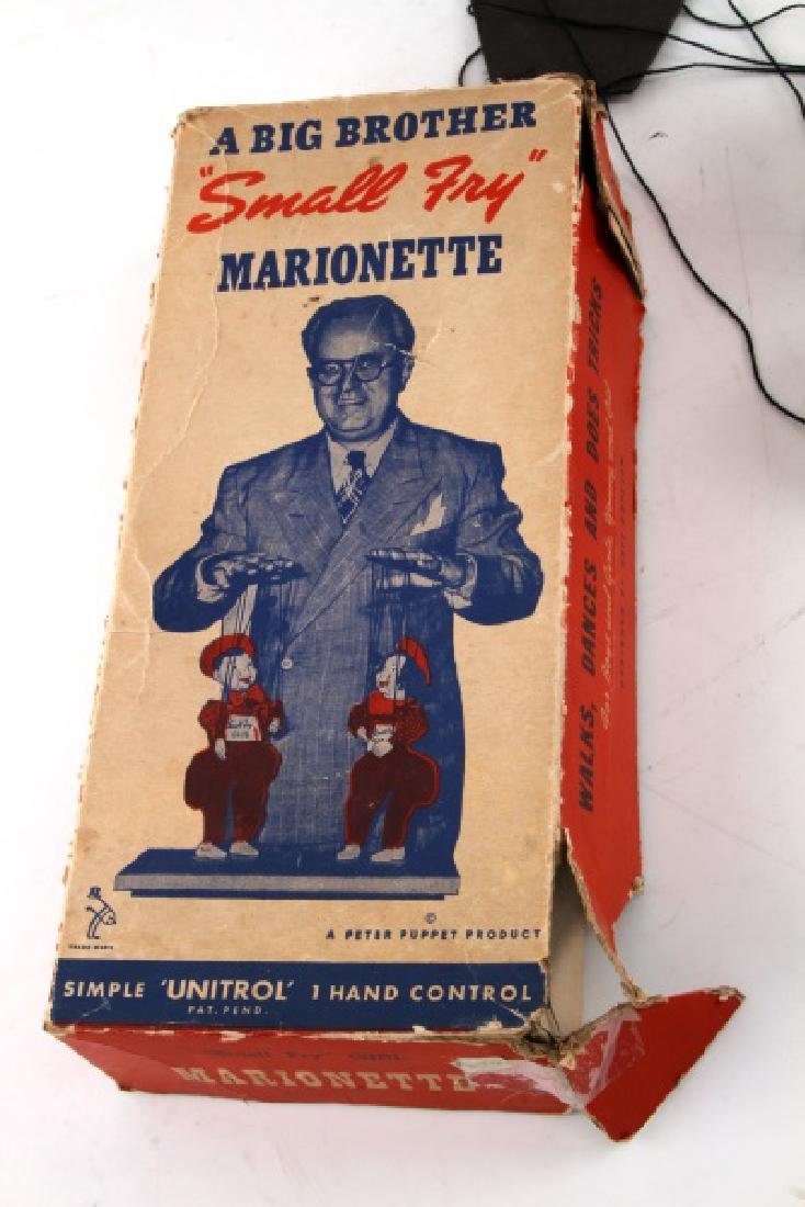 VINTAGE SMALL FRY CLUB BOXED BOY MARIONETTE - 3