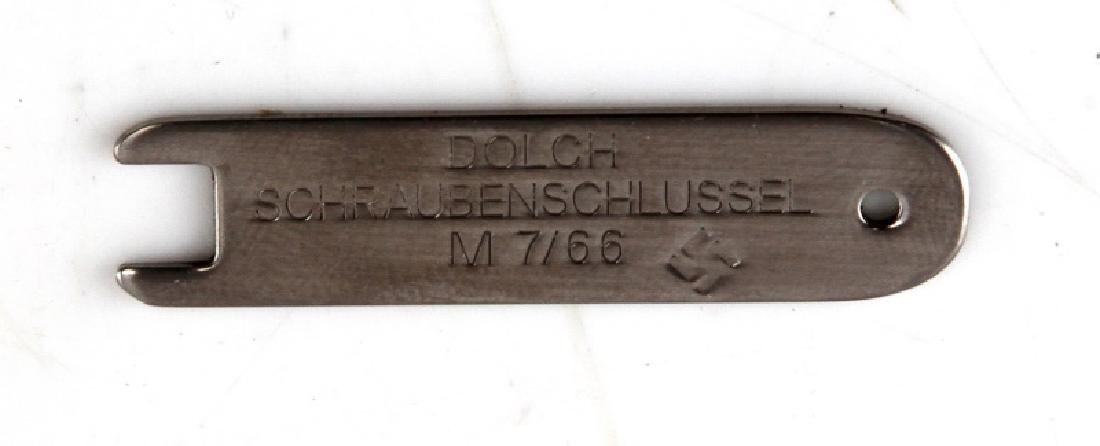 GERMAN WWII MINI SS DAGGER W SCABBARD HANGER - 5
