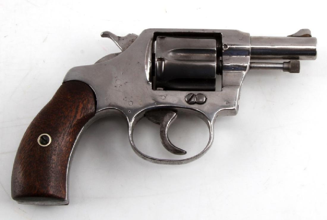 COLT POCKET POSITIVE .32 CALIBER NICKEL REVOLVER