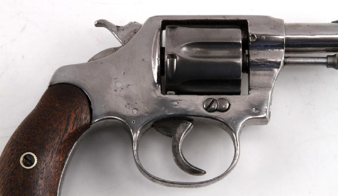 COLT POCKET POSITIVE .32 CALIBER NICKEL REVOLVER - 2