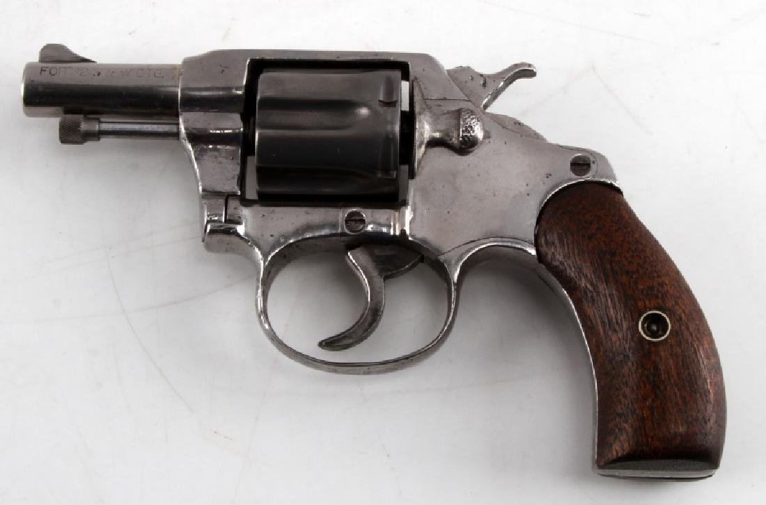 COLT POCKET POSITIVE .32 CALIBER NICKEL REVOLVER - 3