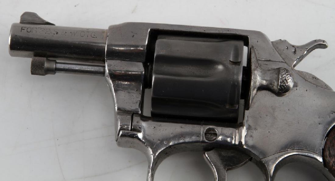 COLT POCKET POSITIVE .32 CALIBER NICKEL REVOLVER - 4
