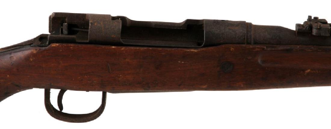 JAPANESE WWII ARISAKA TYPE 99 RIFLE NO BOLT - 2