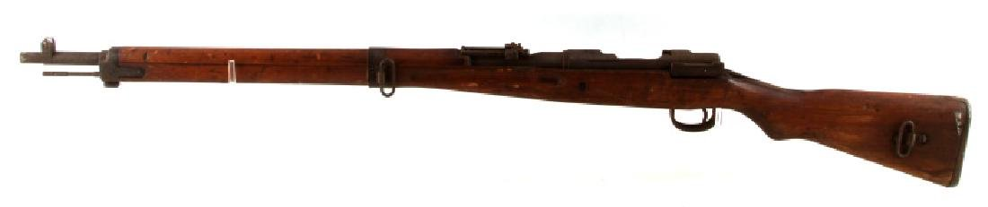 JAPANESE WWII ARISAKA TYPE 99 RIFLE NO BOLT - 3