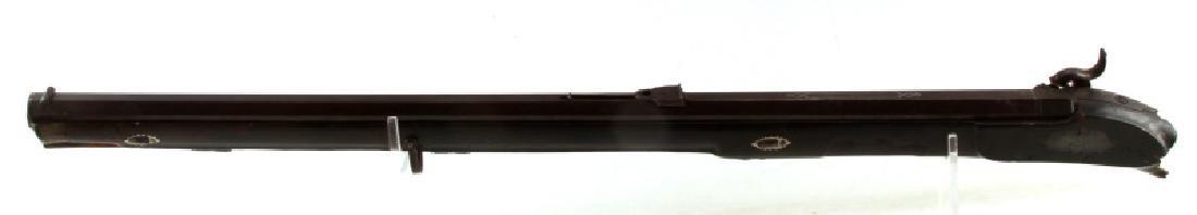 E TRIEBEL LANDSBERG CARVED WOOD RIFLE .59 BROKEN - 8