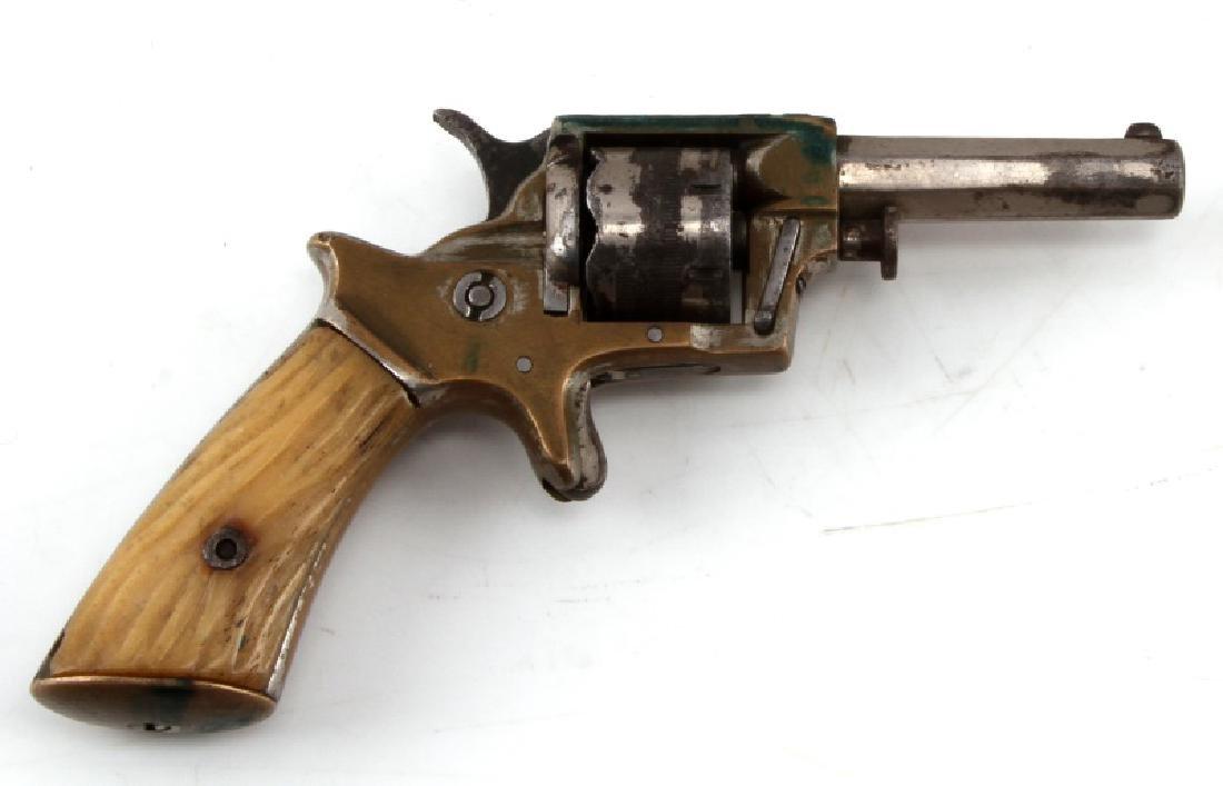 ENGLISH WILLIAM TRANTER .230 CAL 7 SHOT REVOLVER