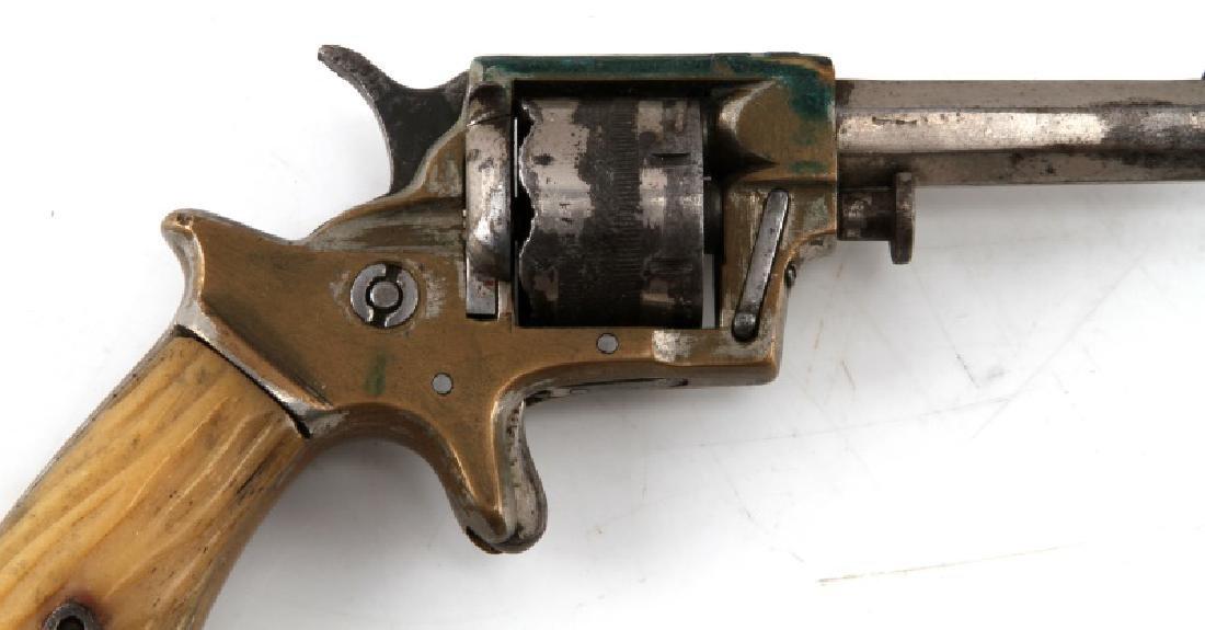 ENGLISH WILLIAM TRANTER .230 CAL 7 SHOT REVOLVER - 2