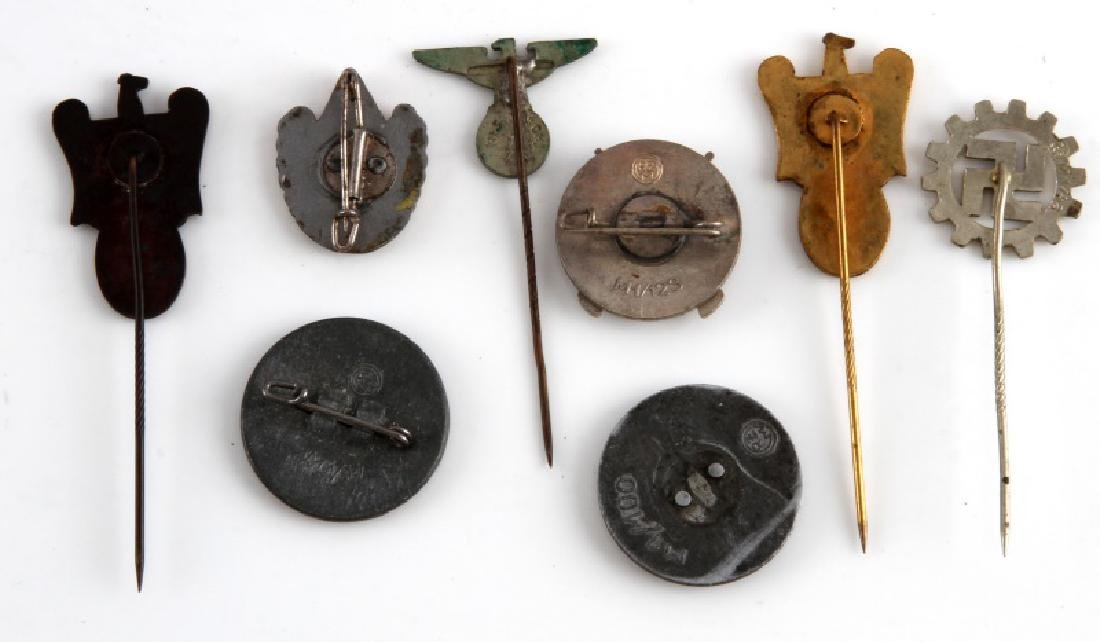 WWII GERMAN THIRD REICH STICK PIN AND BADGE LOT - 2