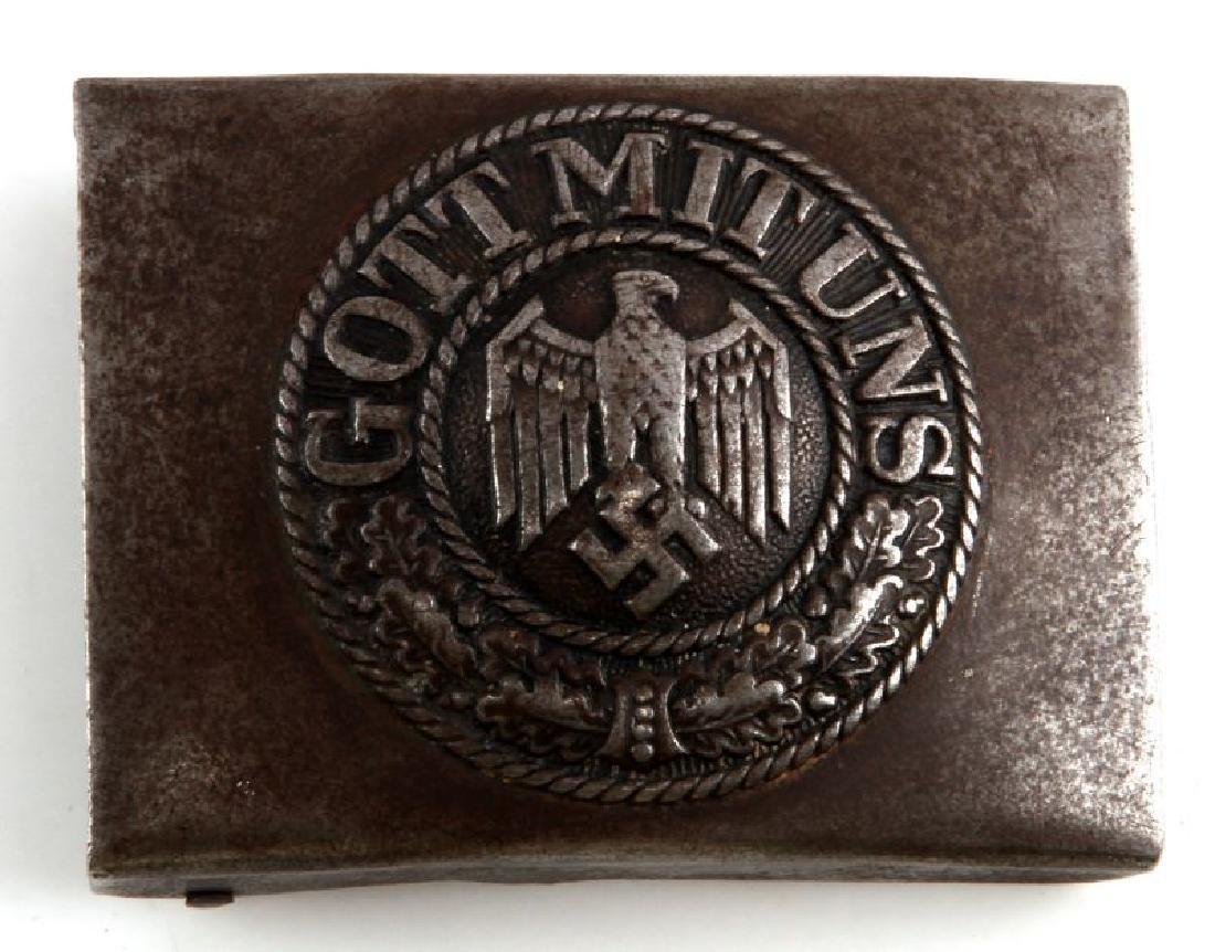 WWII GERMAN THIRD REICH WEHRMACHT BELT BUCKLE