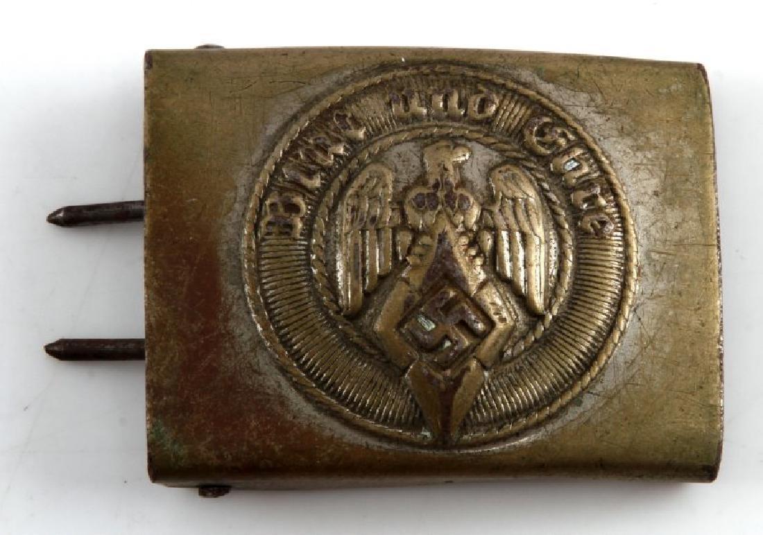WWII GERMAN THIRD REICH  HILTER YOUTH BELT BUCKLE