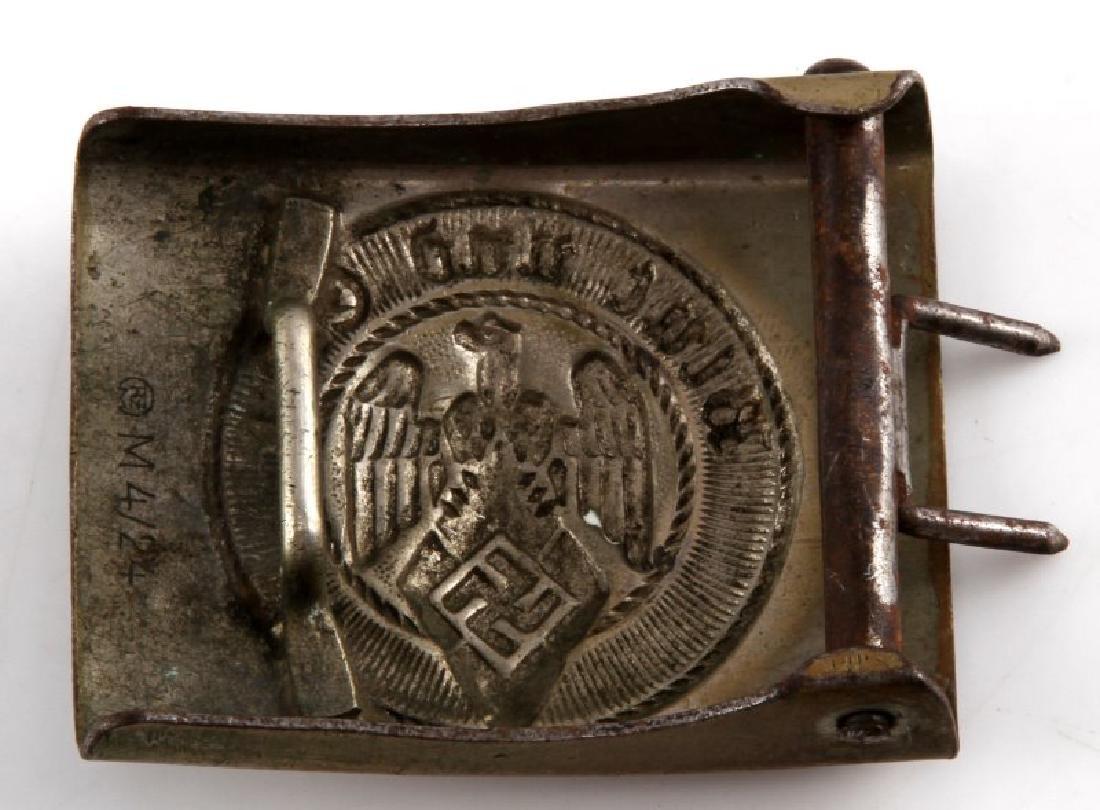 WWII GERMAN THIRD REICH  HILTER YOUTH BELT BUCKLE - 2