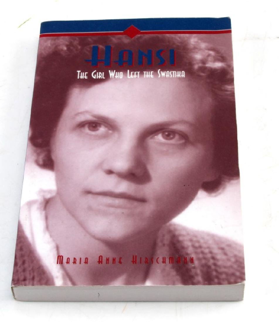 HANSI THE GIRL WHO LEFT THE SWASTIKA BOOK SIGNED