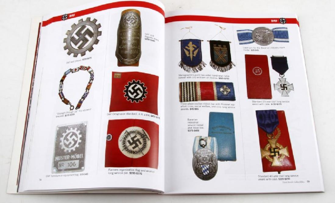 WWII GERMAN THIRD REICH COLLECTIBLES GUIDE BOOK - 2