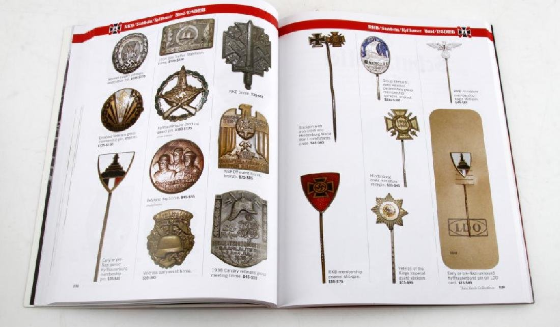 WWII GERMAN THIRD REICH COLLECTIBLES GUIDE BOOK - 3