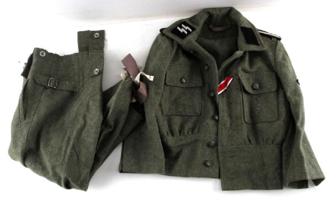 WWII GERMAN THIRD REICH SS CHILD SIZED UNIFORM
