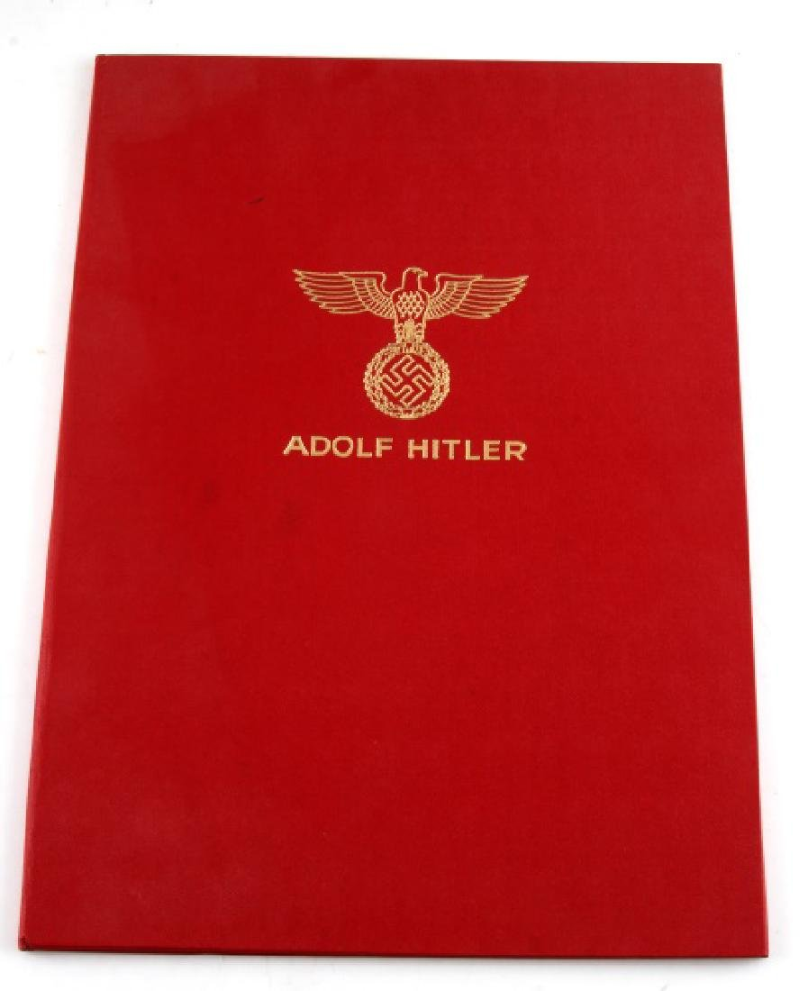 WWII GERMAN THIRD REICH REPRODUCTION HITLER PAPERS