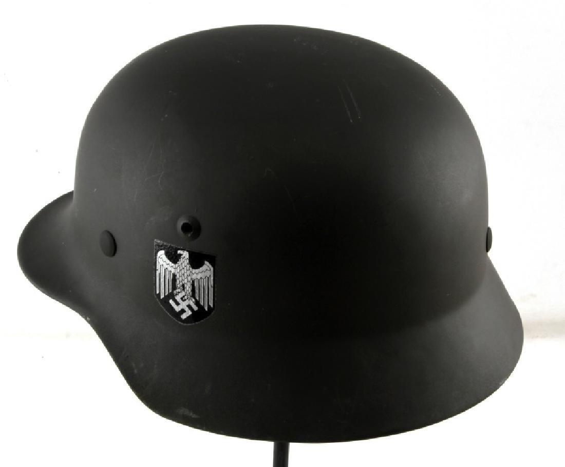 REPRODUCTION WWII GERMAN M 1940 HELMET - 4