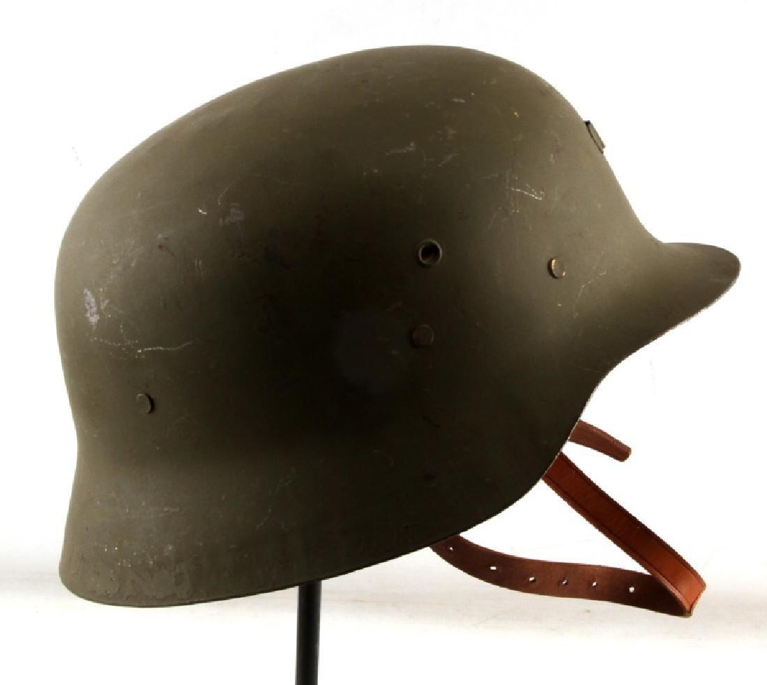 SPANISH POST WAR STEEL HELMET W LINER MODEL Z - 2