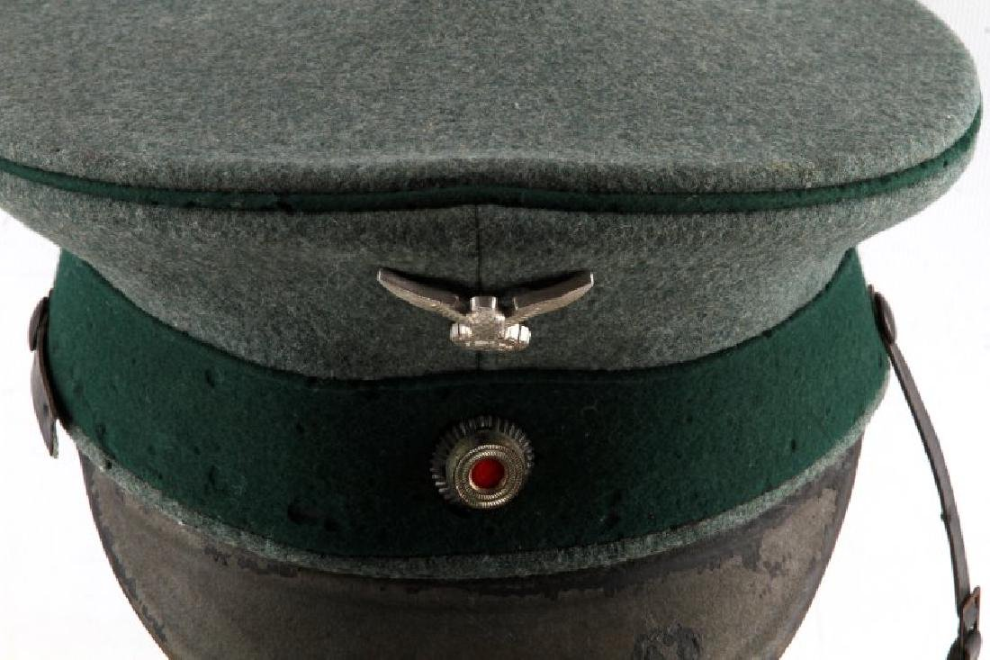 WWII GERMAN STATE FORESTRY OFFICER HAT - 2