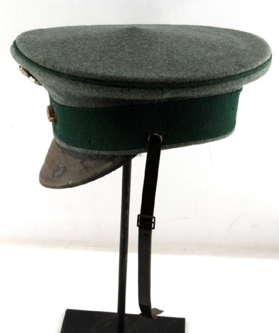 WWII GERMAN STATE FORESTRY OFFICER HAT - 3