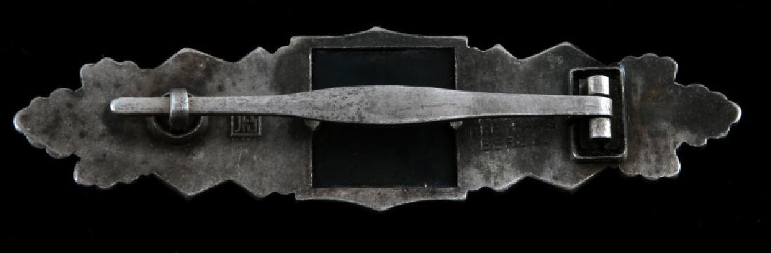 WWII GERMAN THIRD REICH SILVER CLOSE COMBAT CLASP - 2