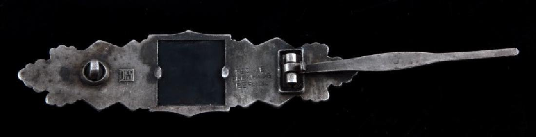 WWII GERMAN THIRD REICH SILVER CLOSE COMBAT CLASP - 3