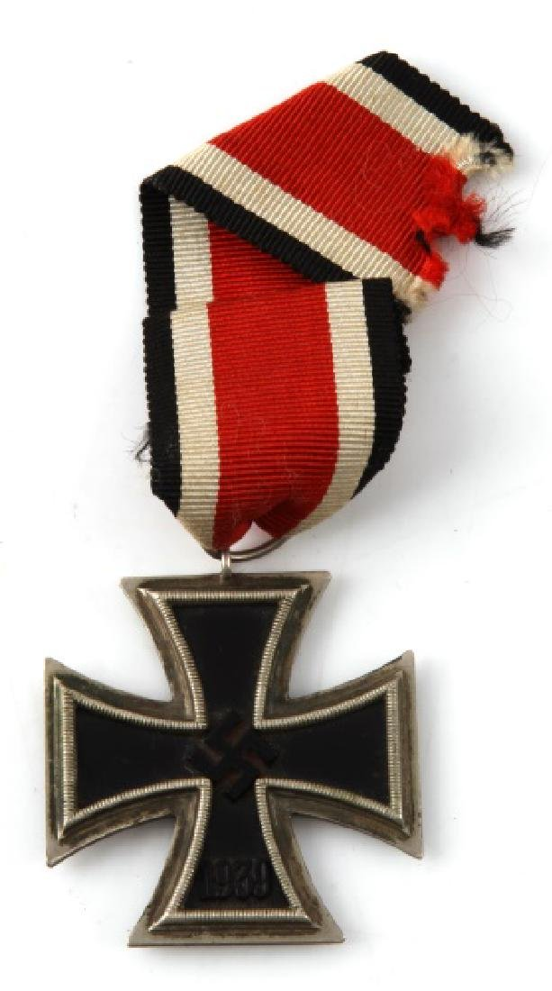 GERMAN WWII IRON CROSS 2ND CLASS WITH RIBBON