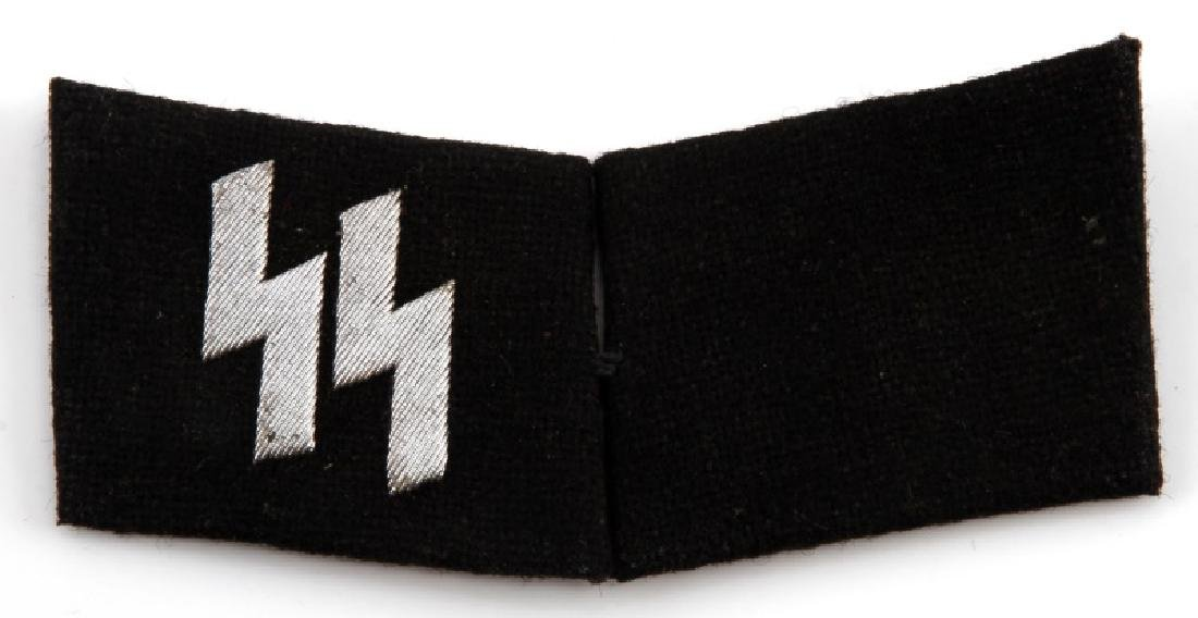 WWII GERMAN 3RD REICH LATE WAR SS OFFICER TAB SET