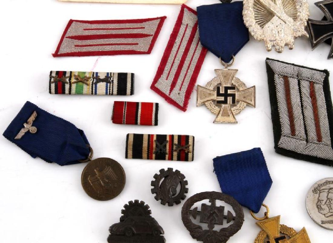 GERMAN WWII COLLECTION MEDALS BADGES PINS MORE - 5