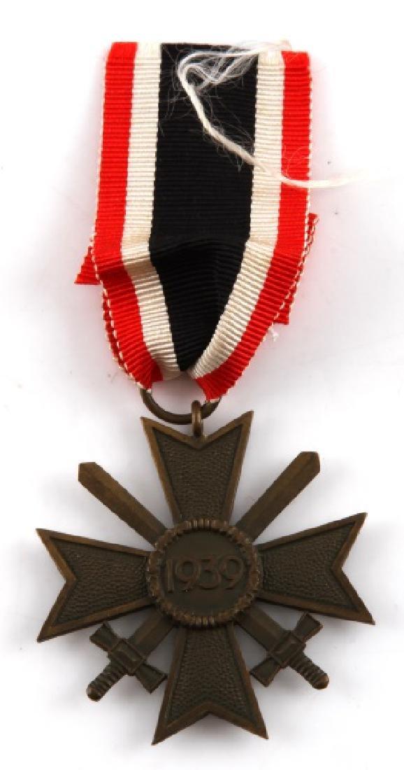 WWII GERMAN THIRD REICH WAR MERIT CROSS W SWORDS - 2