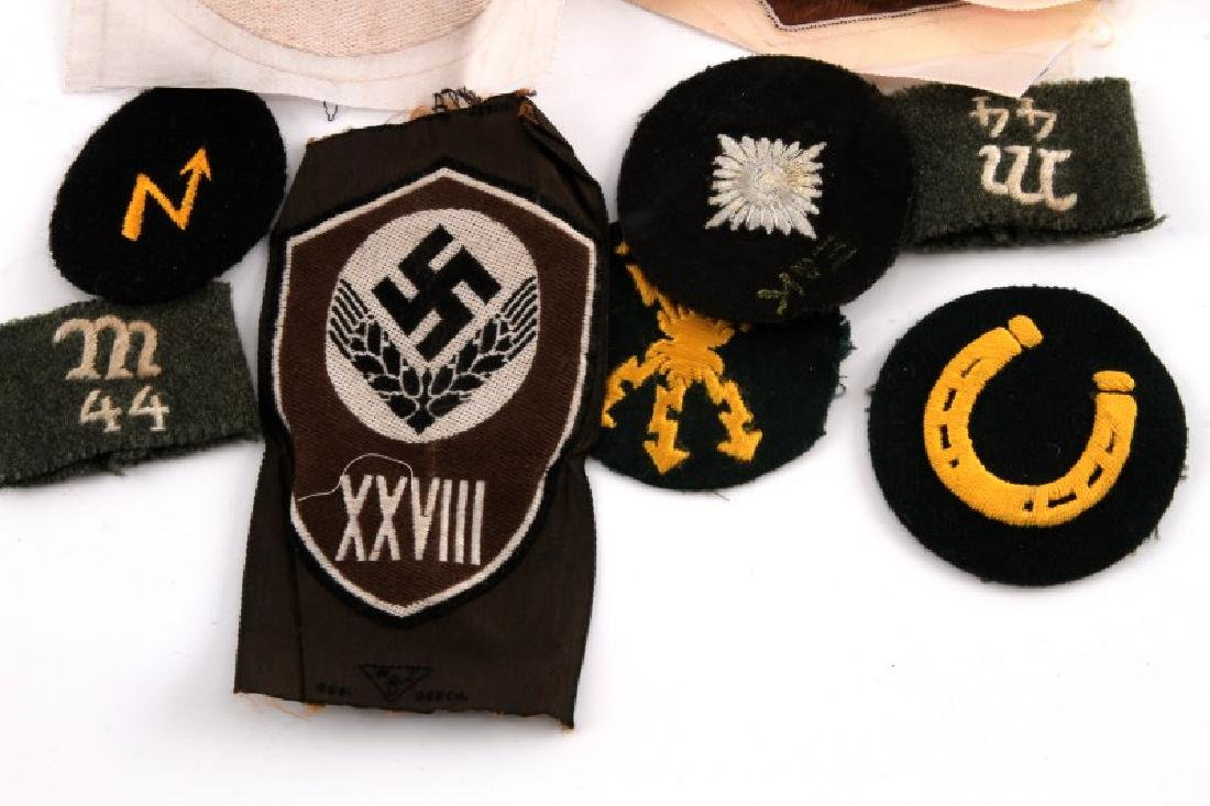 WWII GERMAN THIRD REICH ASSORTED PATCH LOT OF 10 - 3