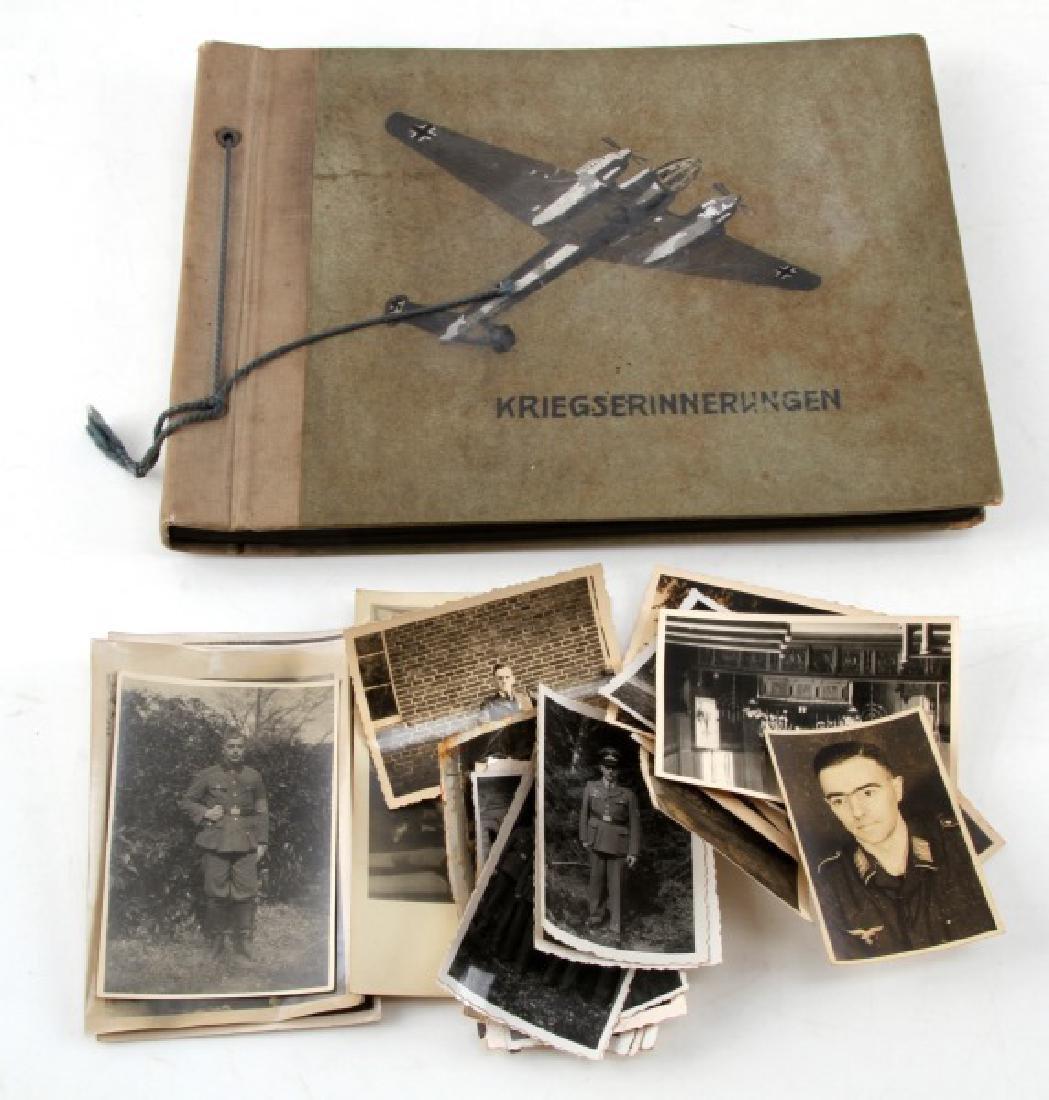 WWII GERMAN THIRD REICH WAR MEMORIES PHOTO ALBUM