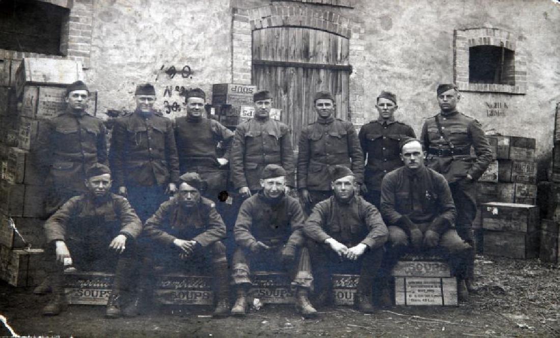 WWI PHOTO POSTCARD MESS COOKS CAMPBELLS SOUP - 2