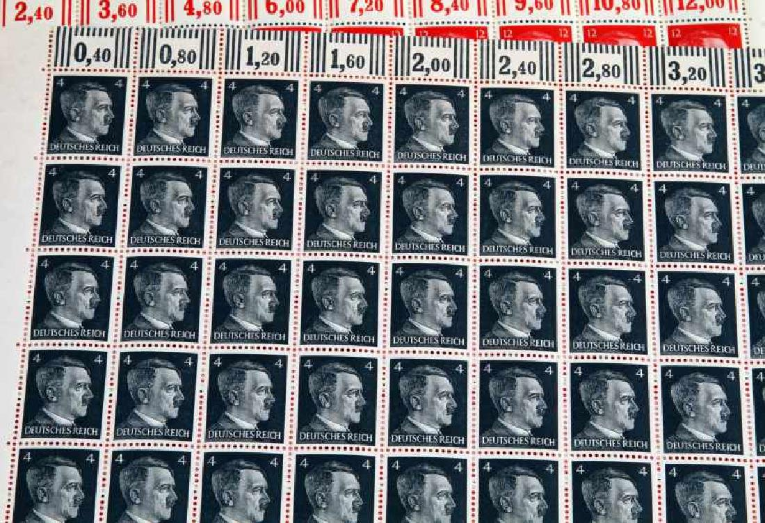 15 SHEET ADOLF HITLER POSTAGE STAMP LOT - 2