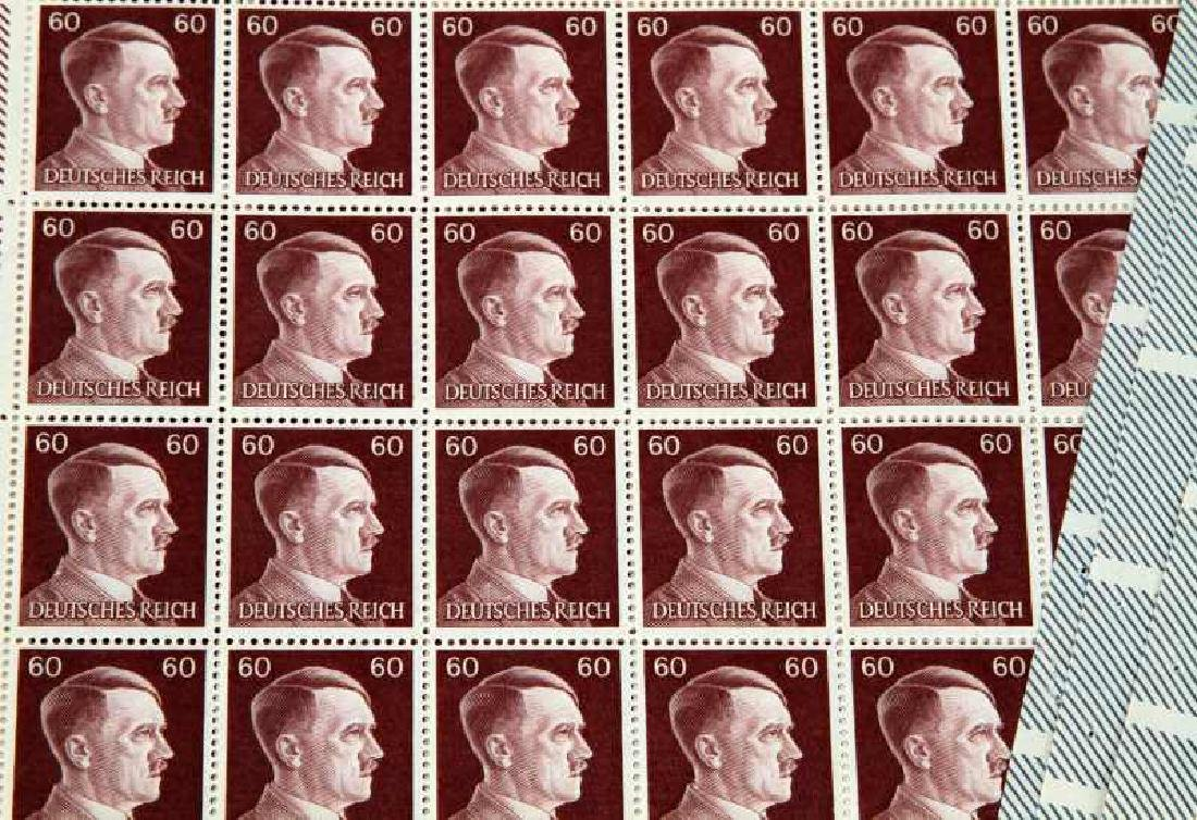 15 SHEET ADOLF HITLER POSTAGE STAMP LOT - 4
