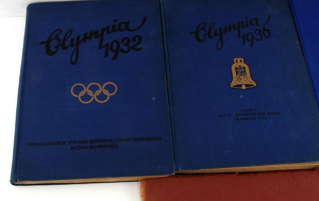 4 GERMAN WWII OLYMPIC TOBACCO CARD ALBUM LOT - 3