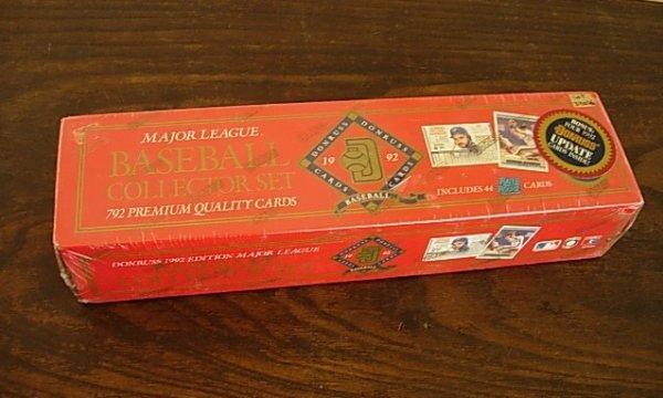 1992 COMPLETE DONRUSS BASEBALL CARD SET UNOPENED