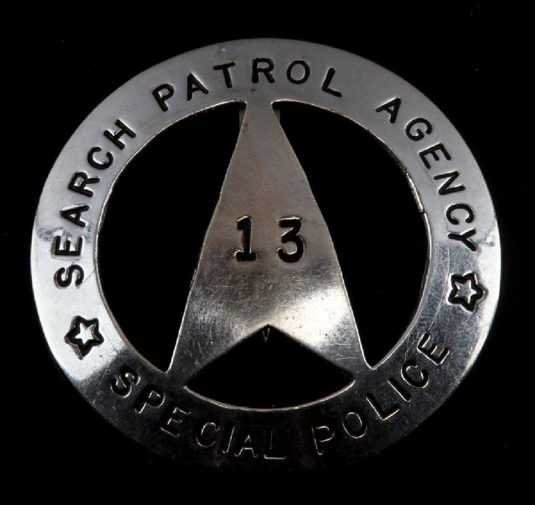 U.S. SEARCH PATROL AGENCY SPECIAL POLICE BADGE