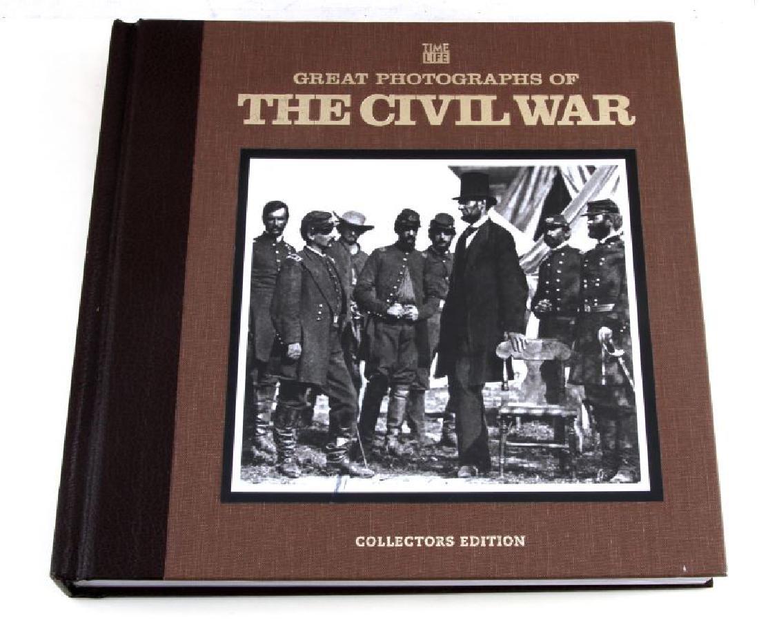 CIVIL WAR PHOTOGRAPH BOOK & COMMEMORATIVE DOCS LOT - 2
