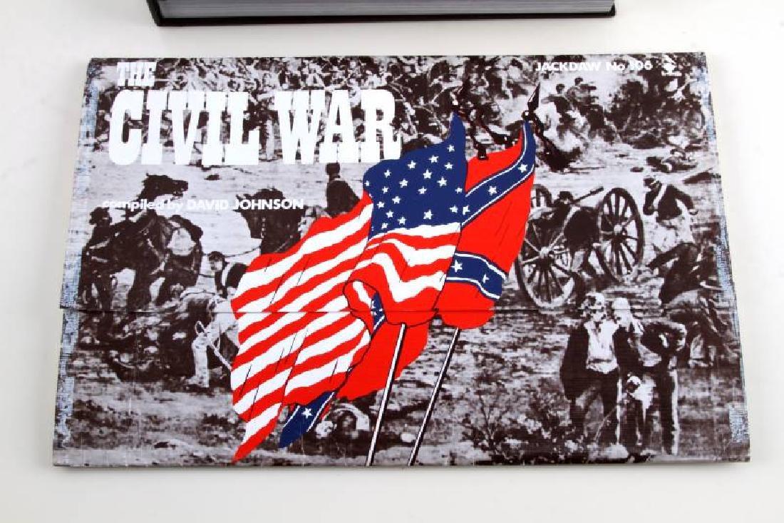 CIVIL WAR PHOTOGRAPH BOOK & COMMEMORATIVE DOCS LOT - 3