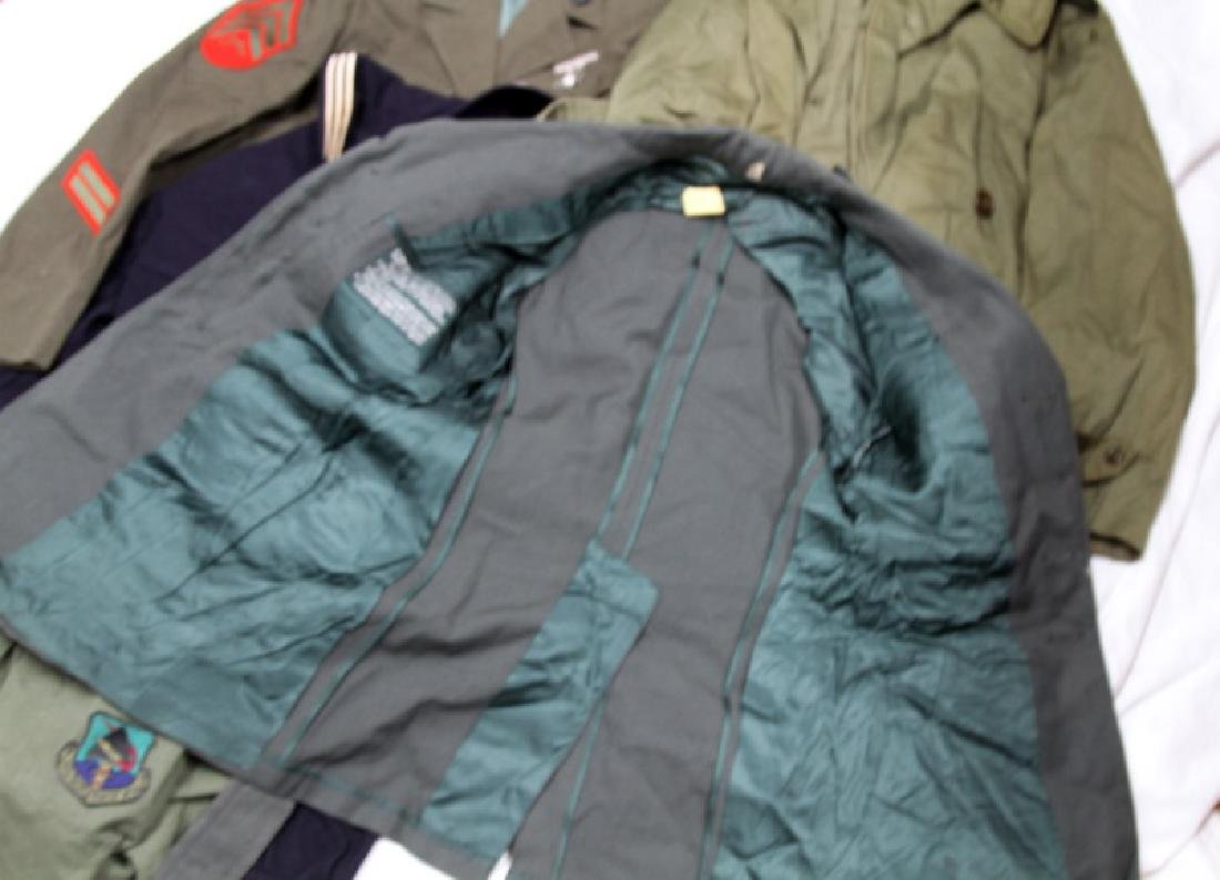 LARGE GROUPING OF ASSORTED MILITARY UNIFORM COATS - 4