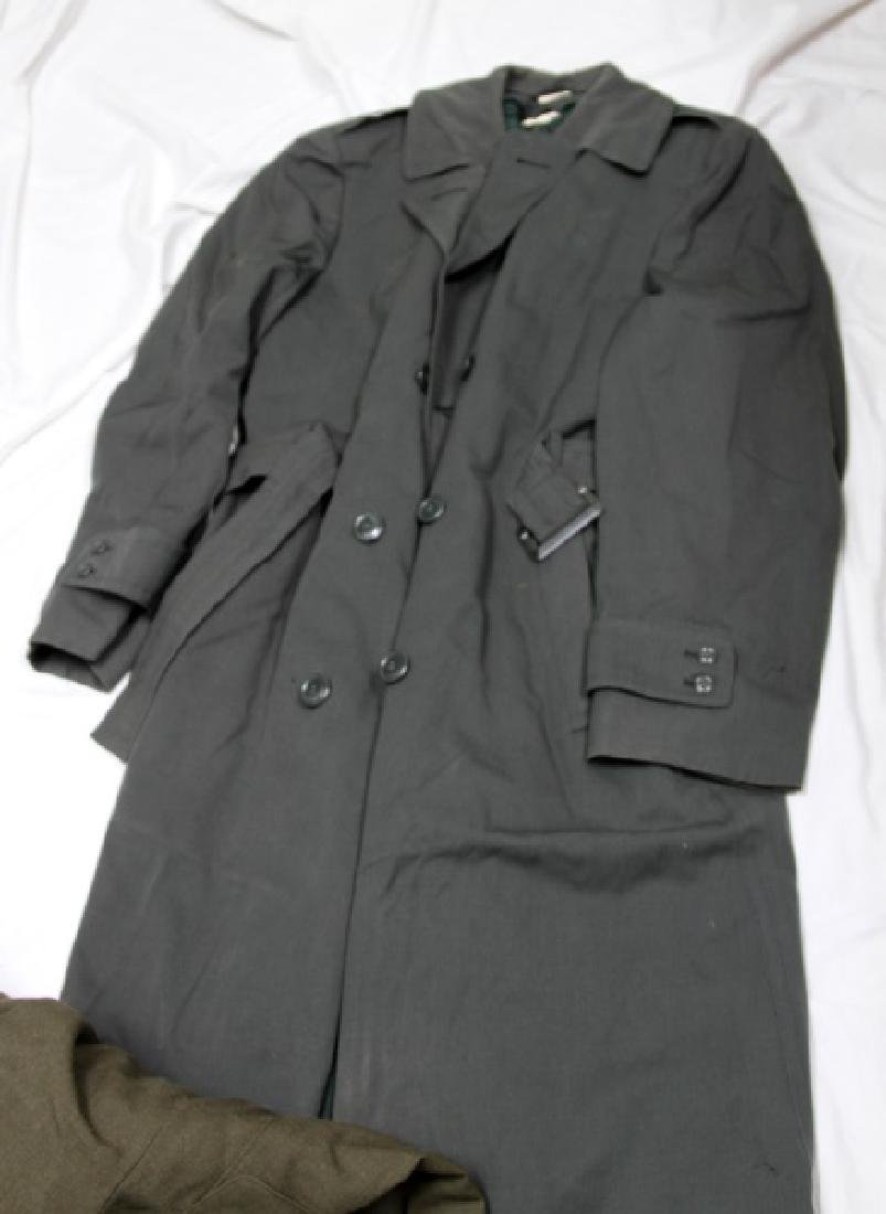 LARGE GROUPING OF ASSORTED MILITARY UNIFORM COATS - 7