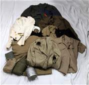 WWII AND COLD WAR US MILITARY UNIFORM LOT