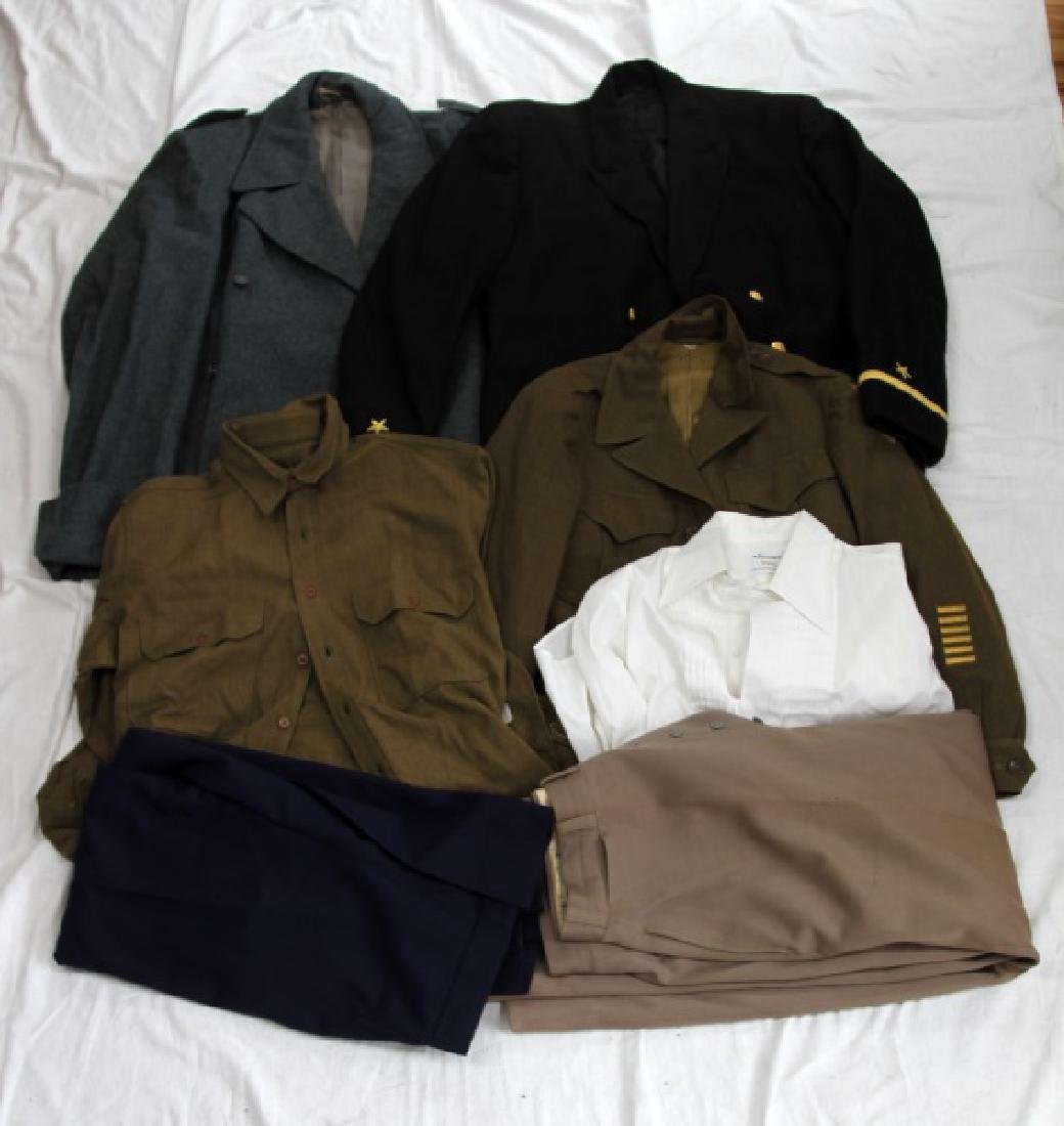 US MILITARY MIXED UNIFORM CLOTHING LOT