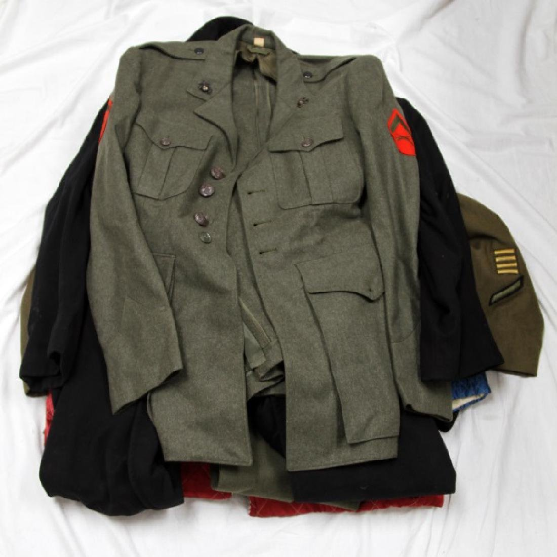 MIXED MILITARY UNIFORMS  LOT OF 5