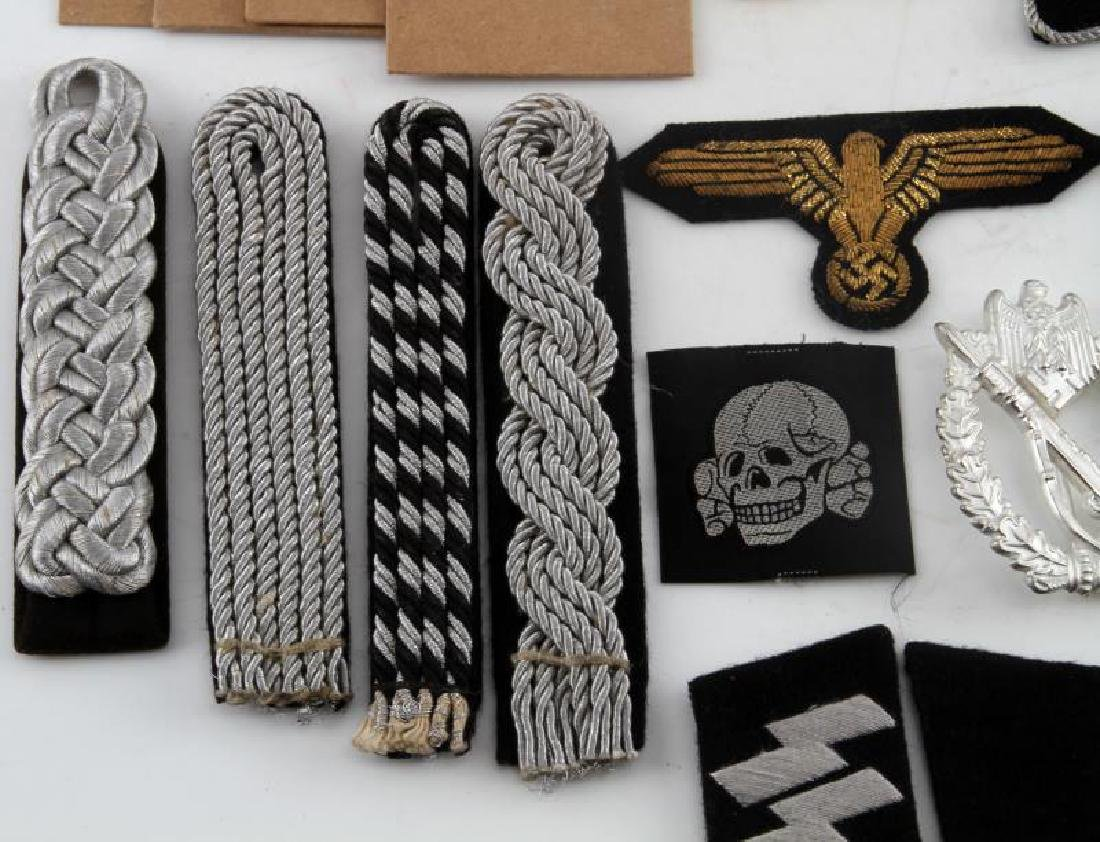 WWII GERMAN THIRD REICH PATCH AND BADGE REPRO LOT - 5