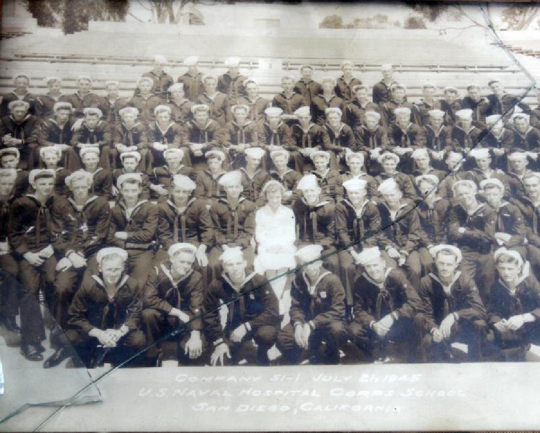 LOT OF US MILITARY SOLDIER PHOTOS NAVAL OLD GLORY - 3